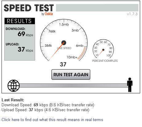 Consumer Broadband Test