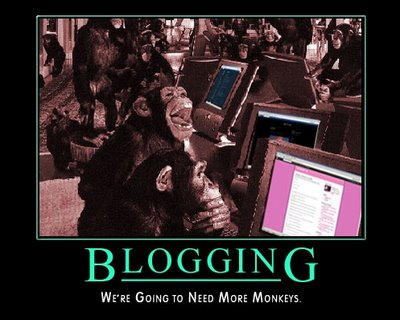 Blogging monkeys